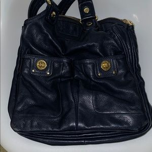 Authentic Marc by Marc Jacobs Navy/Gold Handbag